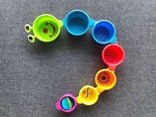 Munchkin Caterpillar Stacking & Straining Cups
