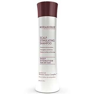 Keranique Deep Hydration Scalp-Stimulating Shampoo, 8 Ounce