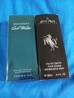 🚚 Davidoff Cool Water 75ml for both