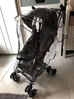 Pockit stroller rain cover