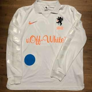 Authentic Virgil Off-White X Nike Mercurial Jersey