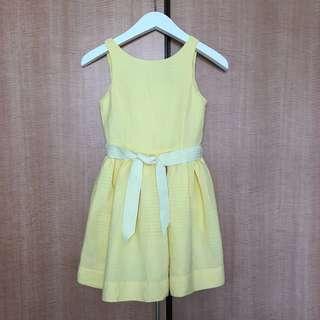 {NEW} POLO RALPH LAUREN yellow dress