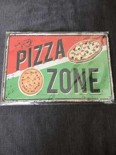 BN Pizza Zone tin plate 20x30cm