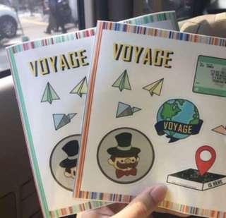 BUY 2 GET 1 FREE VOYAGE STICKER