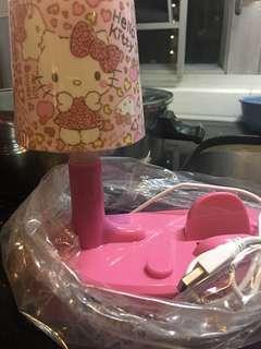 全新 Hello Kitty USB 電話插燈座