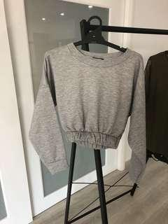 Grey jumper with