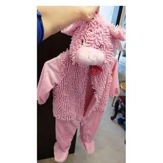 豬仔造型小孩衣服