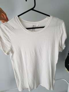 H&M Basic White T-Shirt