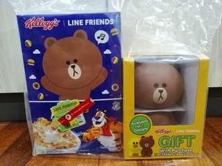Kellogg's Cereals with LINE gift