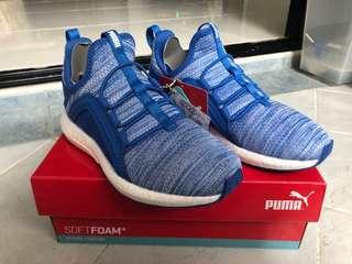 Junior PUMA Soft Foam Heather Knit (Blue)