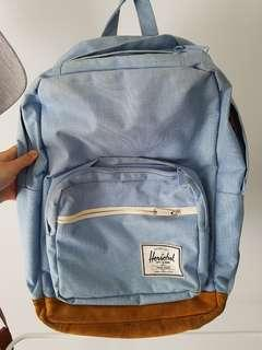 Hershel Light Blue Backpack