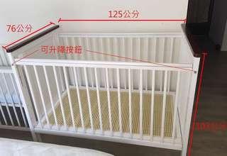 GMP 實木嬰兒床
