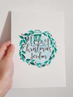 [CUSTOMISE] Christmas cards