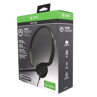 P12 Chat Headset - Microsoft Officially Licensed for Xbox One/Xbox One S/Xbox One X ( Std 3.5mm plug )