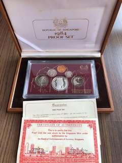 N147 - Singapore 1984 Proof Coin Set