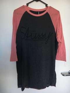 oversized stussy shirt
