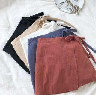 [po] tumblr basic irregular skirt