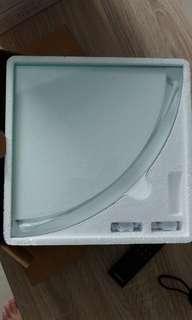 Corner Glass Shelf (2pcs)
