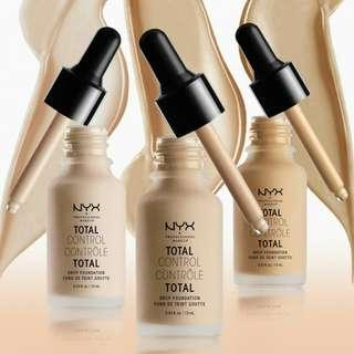 NYX  Total Control Drop Foundation SALE