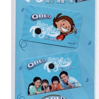 全新OREO一套兩款成人及小童親子八達通