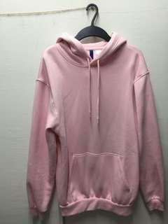 H&M Hoodie Light Pink
