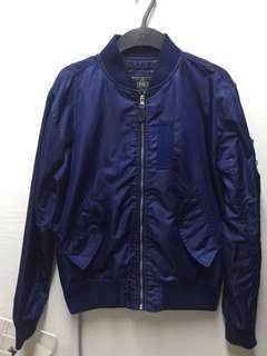 Bomber Jacket Navy Blue