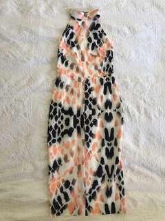 High Neck Midi Dress 8