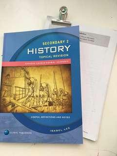 Secondary 2 History Topical Revision
