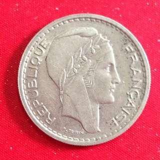 1949 France 10 francs