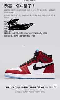 Air Jordan 1 Retro High OG GS 女裝