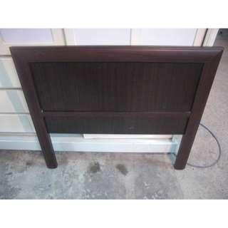 【尚典中古二手家具】中古單人床頭板(二手床頭板)胡桃色單人床頭板