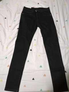 Ladies Black Long Jeans