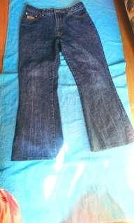 Blue jeans - used and cheap waist 30