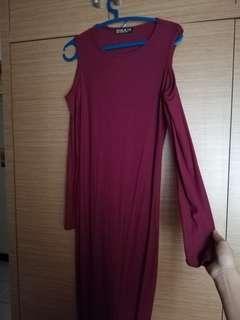 Cotton On Dress maroon