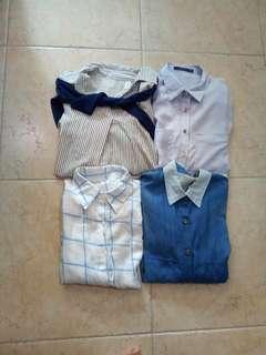 Casual collared shirts