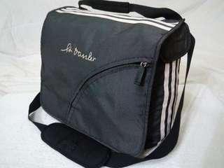 Adidas Adi Dassler signature messenger bag