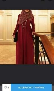Jubah dress by nuramirah