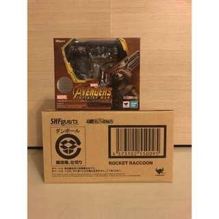 S.H.Figuarts SHF Rocket Raccoon Infinity War Japan Exclusive