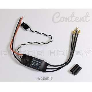 🚚 [Long version] HOBBYWING XRotor 10A Brushless ESC, 2S-3S for 250 class quadcopter. Code: HW-30901010