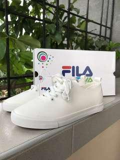 (REPRICED!) BN Fila Tiva Candra White Sneakers