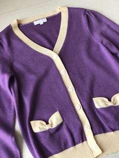 Nicolas & Bears Purple Knitwear