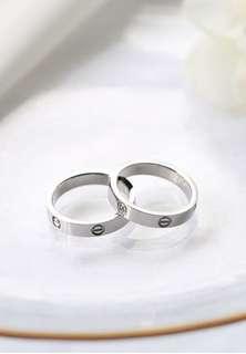 Name engraving Couple rings