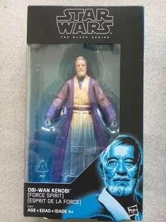 Star Wars Black Series Obi Wan Force Spirit. Exclusive!