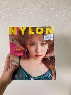 🚚 nylon korea ft chungha and produce 101 s2 boys