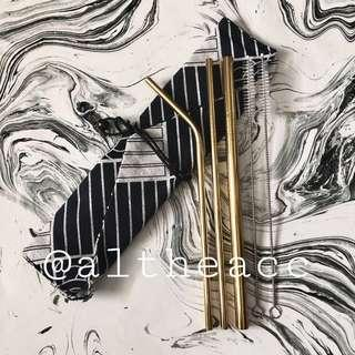 Reusable Straws (Gold)
