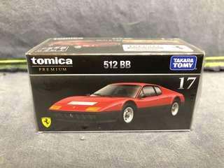 Premium Tomica 17 Ferrari 512BB