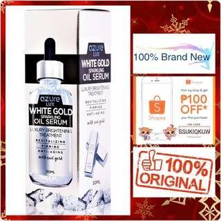 Azure Lux White Gold Luxury Sparkling Oil Serum