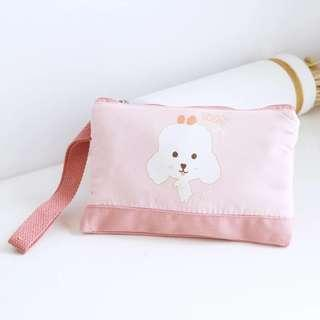 PREORDER - Adorable Funny Dog /Animal Forest Printed Design Casual Waistband Purse #1 & #2