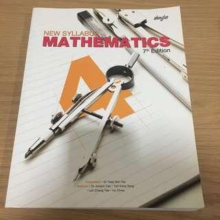 New Syllabus Mathematics 4 [ 7th Edition ]