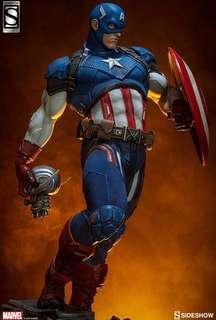 Sideshow Collectibles Captain America Premium Format (MISB)